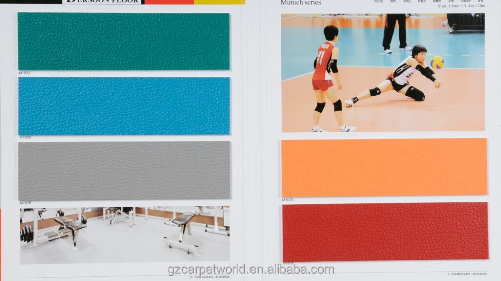 Table Tennis Court Sport Carpet PVC Floor