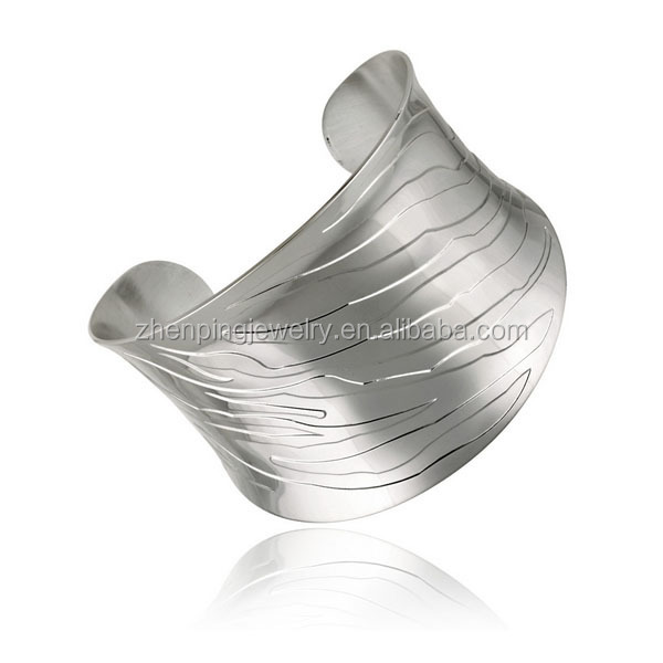Fashion bracelet stainless steel cuff bangle