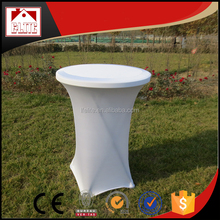 party used 150cm high bar table with cover