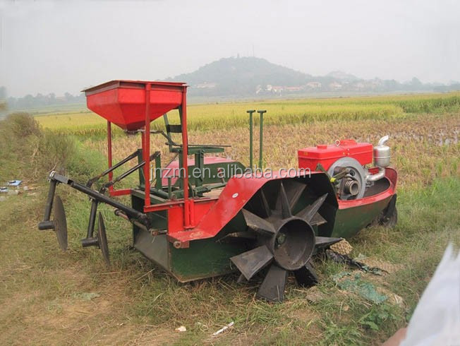 rice farming boat tractor, rice paddy tractor