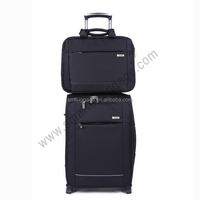 America Carry On Nylon Trolley Luggage with Hand Bag