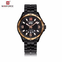 Naviforce 9106 Top Brand Customized Personalized Wrist Watch Day Date Trend Design Quartz Watch Analog Luxury Men Product