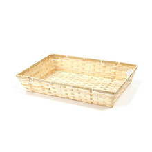 Natural Color Bamboo Tray&Basket Tray use for storage Christmas Gift packaging