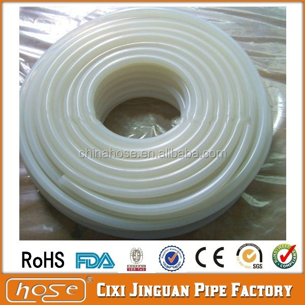 Silicone Tubing Food Grade Translucent Rubber Tube Hose Pipe Beer Water Air Pump