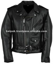 Men Fashion Leather Jacket Motorcycle Style