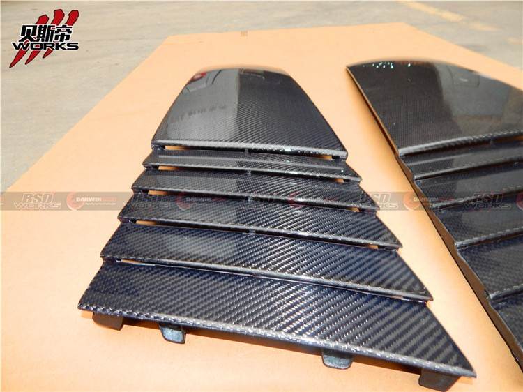 04-08 LP540 LP550 LP560 LP570 CARBON FIBER HEAT EXTRACT FOR GALLARDO
