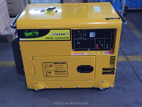 Hot sale home use 5kva diesel sound-proof generator, silent generator