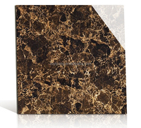 Wear-resistance marble Tile and polished glazed Tiles in brown color, 600x600mm floor tiles for sale