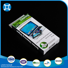 Promotional disposable screen cleaning wet wipes