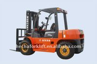 6.0.Ton Diesel Forklift (with Optional ISUZU C240 Engine)
