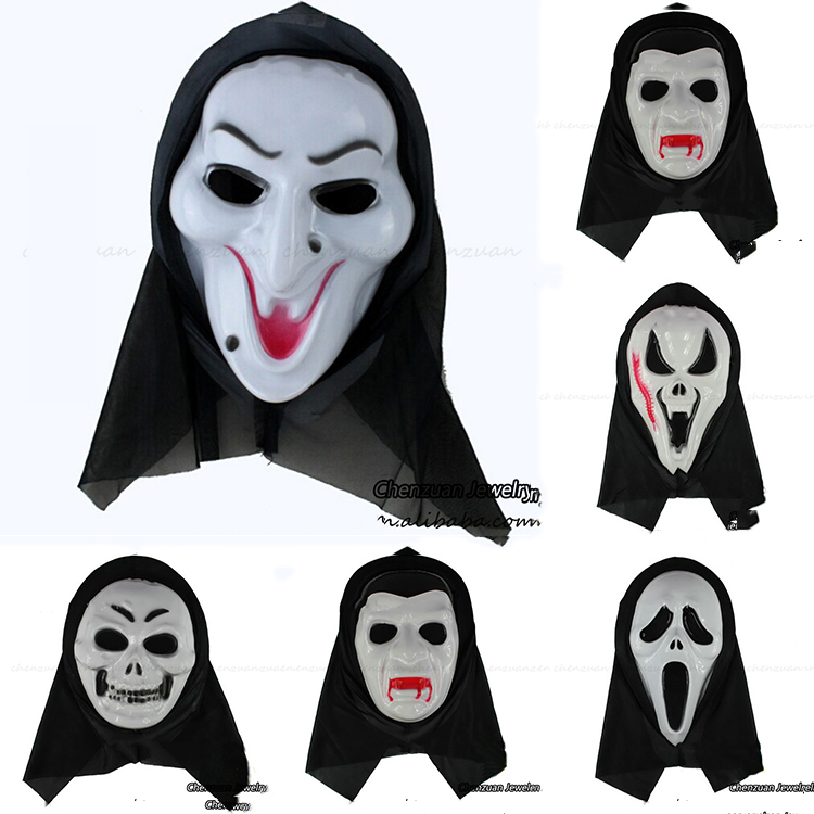 China producer printable sexy adults full face halloween ghost masks for party decorations