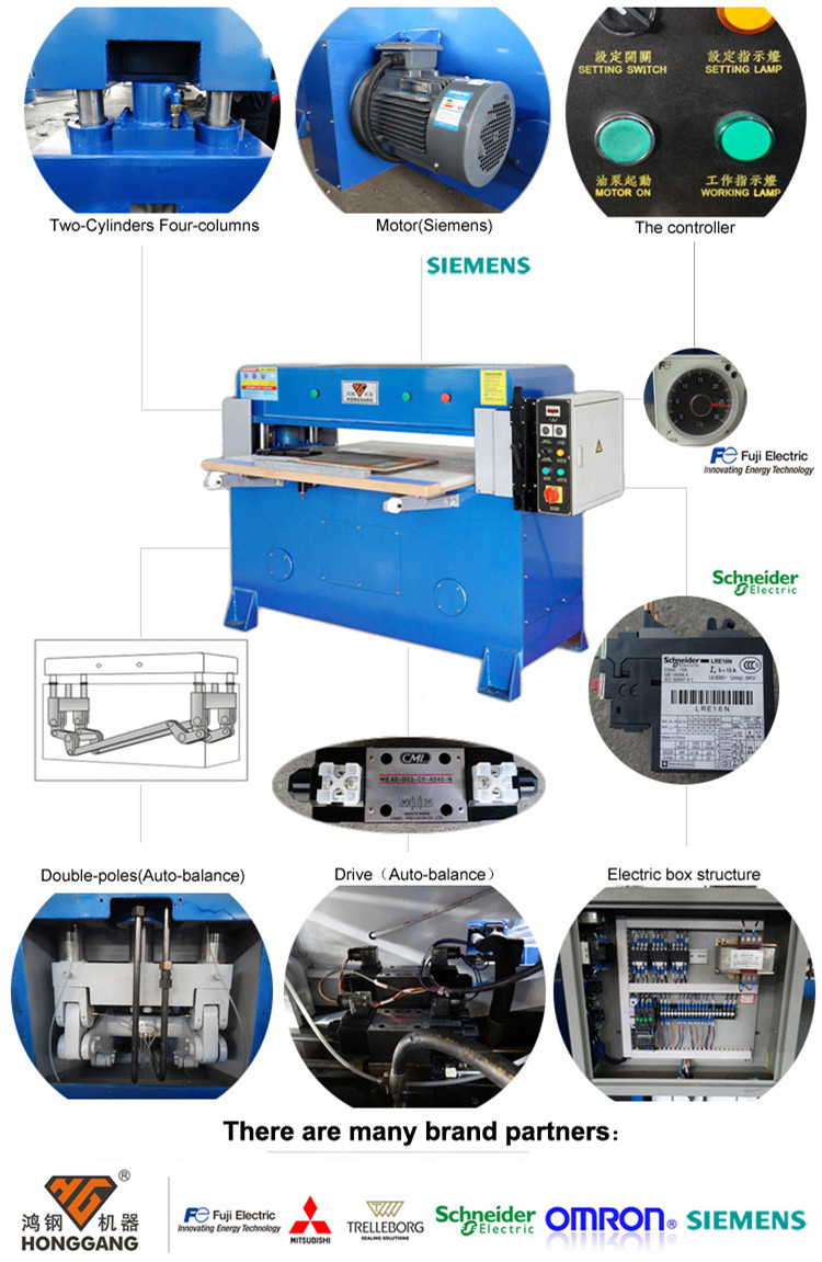 HG-A30T hydraulic nonwoven fabric cutting machine