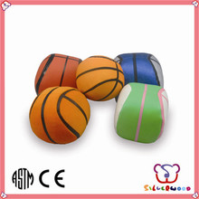 GSV ICTI Factory high quality fashion beach soft ball with logo printing