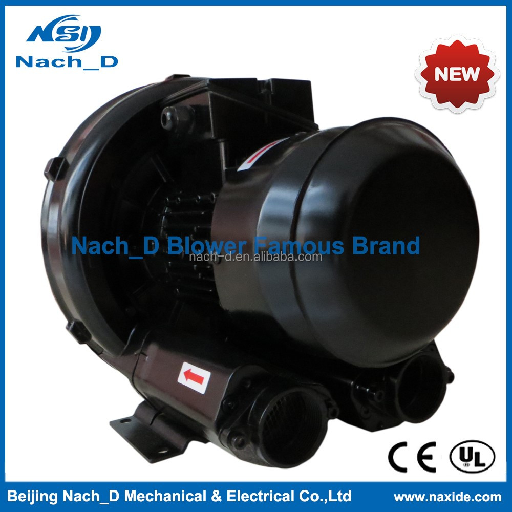 High technology Dual Frequency Turbo Ring Blower