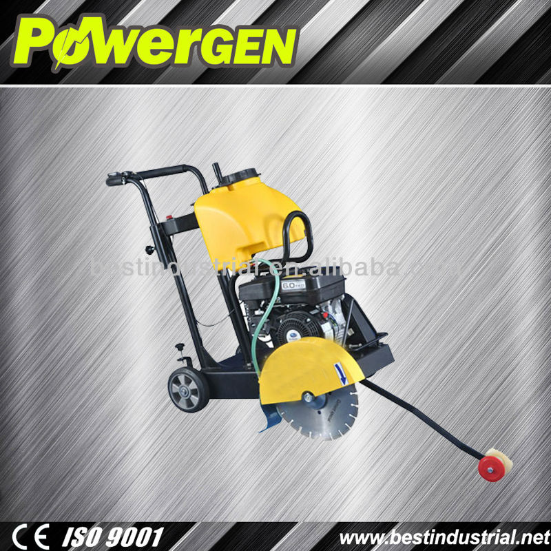 Hot Sales!!!Powergen Construction Machine 300mm Chinese Engine 5.5HP concrete wall cutter