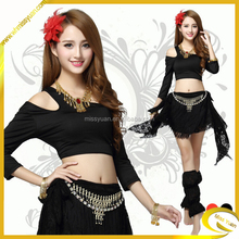 Wholesale new fashion top quality belly Ladies dance costumes
