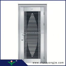 popular stainless steel and honeycomb paper structure european security doors