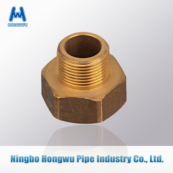 Brass Plated Brass Pipe Fitting, Coupling