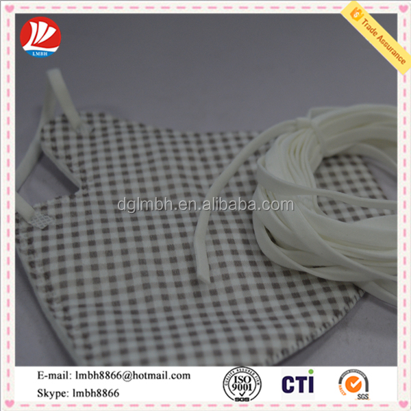 elastic flat ear loop used as face mask raw material