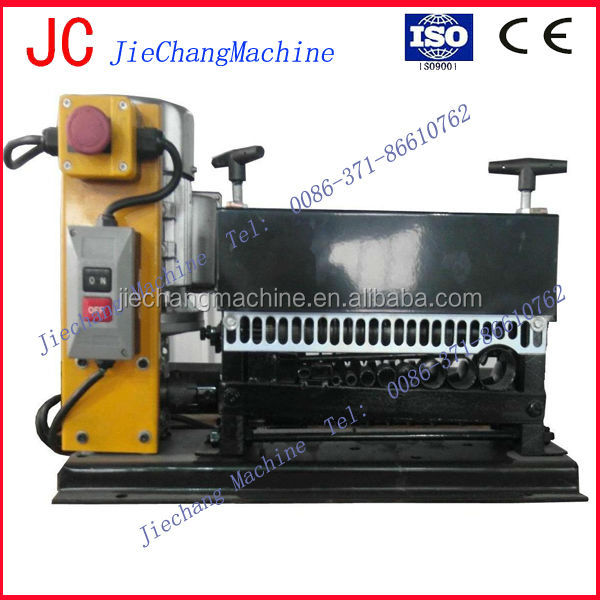 2016 Hot Selling Automatic Wire Cable Recycling Cutting and Stripping Machine
