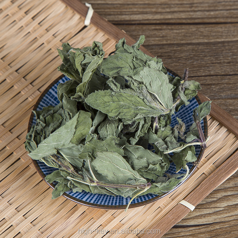 3004 Bohe Green Dried Mint Leaves Loose Herbal Tea Peppermint Tea