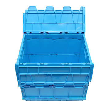 3 Hot sales plastic stackable moving bin plastic transparent storage bins with hinged lids