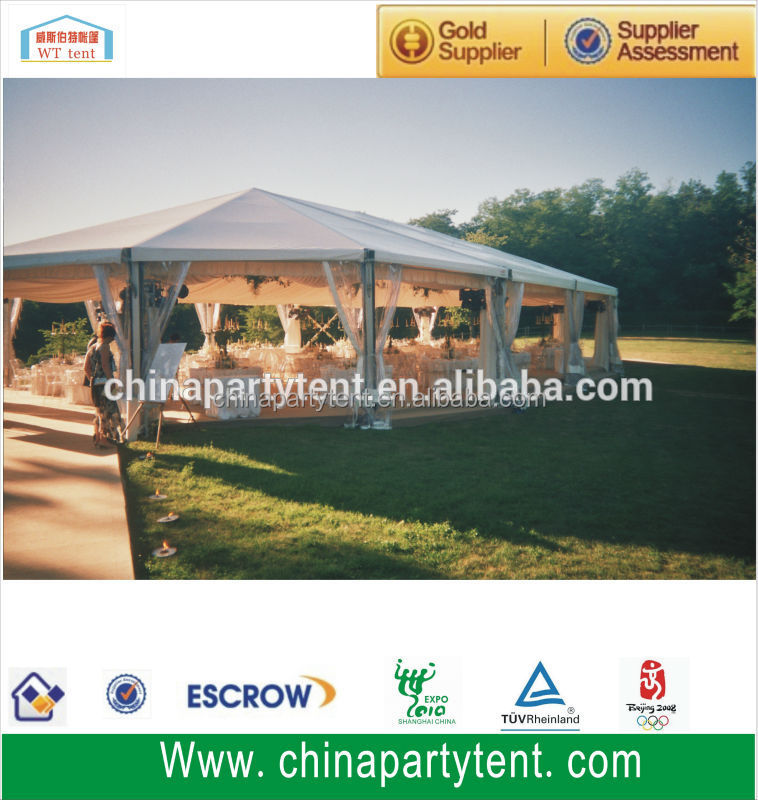 Round aluminum frame polygon octagon party tent for sale