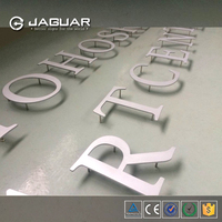 Newly design custom outdoor decorative wall mount laser cut small aluminium house sign letter