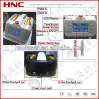 Factory price physiotherapy diode laser device (multi-functional semi conductor laser instrument)
