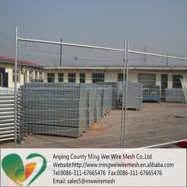 Square Opening Welded Mesh Temporary Fence Designed For Swimming Pool Security