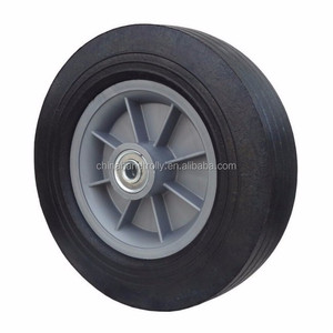 hand truck rubber powder solid tire