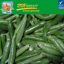 use fresh raw material maked frozen chili long pepper