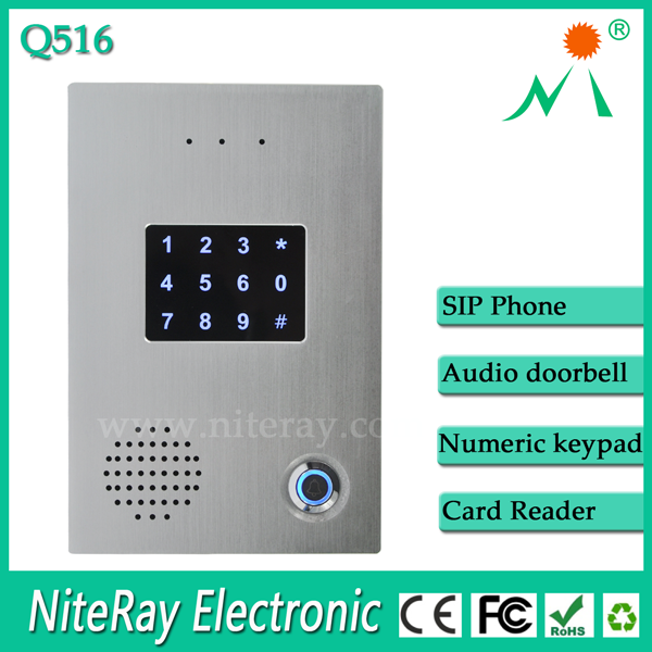 Standalone access control with smart RFID card swiping card entry systems