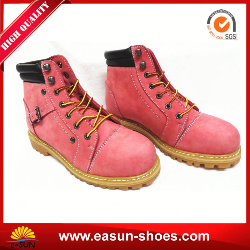 safety shoes wholesale work shoes with heels leather unisex safety boots