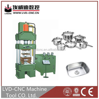 CNC hydraulic turret punch press/hydraulic forging machine with competitive price