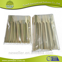 2014 Nature safe skewer for kid and party bamboo agricultural tools