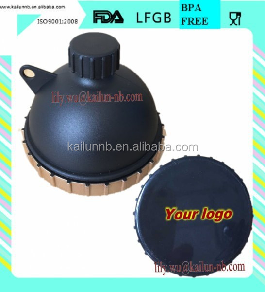 BPA FREE plastic funnel for protein powder