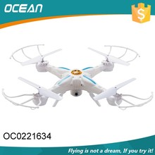 Top quality 2.4g 4-axis ufo aircraft model rc drone camera quadcopter from china
