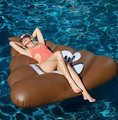 2018 inflatable poop float swimming pool float pvc emoji float toy manufacturer