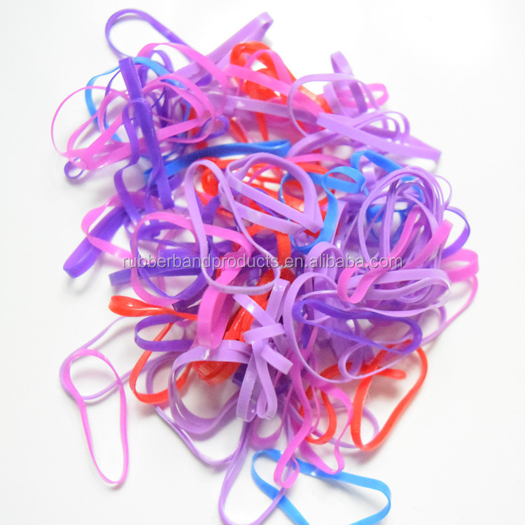 Tpu Colorful Hair Rubber Band , Rubber Band for Hair , Transparent Color Rubber Band