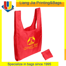 Foldable Shopping Tote Polyester Bag