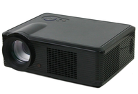 LED33-02 Lowest Price Full HD 1080p LCD Style 2000 Lumens Brightness Smart Mini LED 3D Home Projector