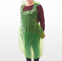 Factory Clean Disposable PE Kitchen Bibs Apron on Roll