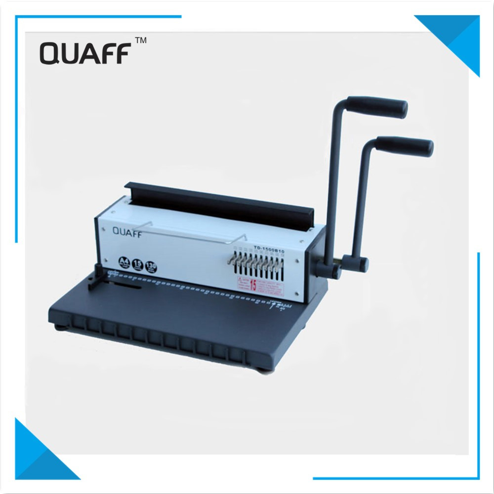China Supplier Double Handle Adjustable Book Binding Machine /Binding Machine for Office & School