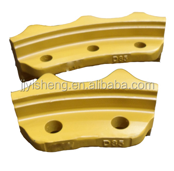 factory price bulldozer sprocket for D85 roller chain dozer sprocket