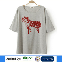 2014 New Hot Ladies Fancy Item--100% Cotton Bulk Wholesale The Woman Sex Horse T-shirts