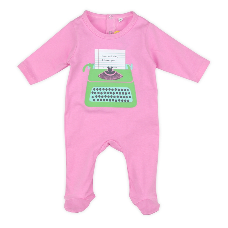 2015 Real Promotion Character Covered Button Unisex Jersey O-neck Baby Clothes Cotton Baby Rompers Clothing Carters Style Autumn