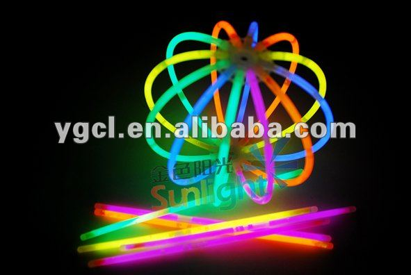 Glow Ball with 12 Sticks Lighting in the Dark