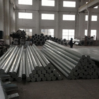 Electric Galvanized Steel Metal Poles