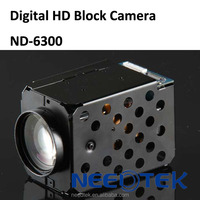 Network digital 1920x1080p industrial cctv zoom block camera for ptz camera assemble